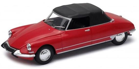 Auto 1:24 Citroen Ds 19 Cabriolet Convert Welly Lionels 506h