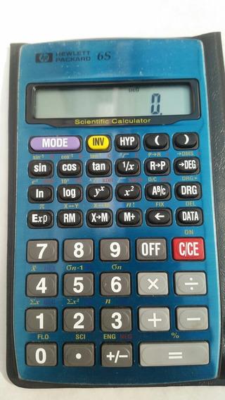 Calculadora Cientifica Hp 6s Con Funda Original
