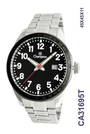 Relógio Champion Masculino Aço Ca31695t Promocao