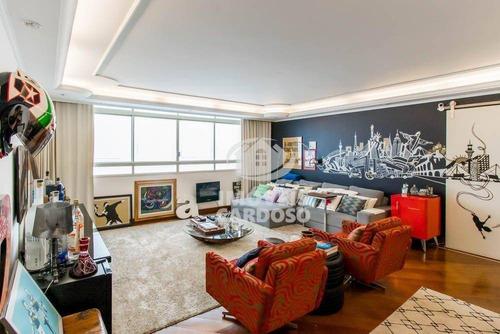 Imagem 1 de 6 de Apartamento Com 3 Dormitórios À Venda, 225 M² Por R$ 1.800.000 - Higienópolis - São Paulo/sp - Ap3415
