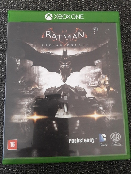 Batman Arkham Knight - Xbox One - Mídia Física - Original