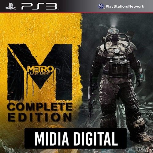 Ps3 Psn* - Metro Last Light Complete Edition