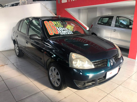 Clio Sedan 1.6 16v Expression Hi-flex 4p - 2006 - Completo