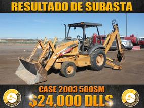 Retroexcavadora Case 2003 580sm,resultados De Subasta