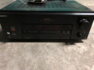 Sony Str-v555es - Sintoamplificador - Linea Sony Es - Caja - Manual - Ctrol Remoto - Impecable !!!