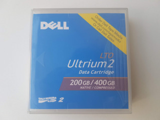 Cinta De Datos Backup Dell Lto Ultrium2 200gb / 400gb