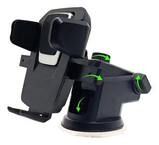 Suporte Porta Celular De Carro Trava Automática Rotação 360º