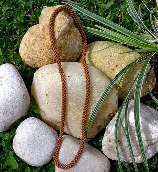 Colar De Sementes Indiano Budismo Nepal Hare Krishna