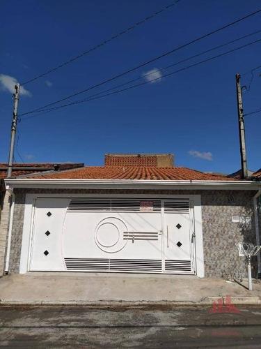 Casa Com 3 Dormitórios À Venda, 120 M² Por R$ 270.000,00 - Parque Liberdade - Americana/sp - Ca2832