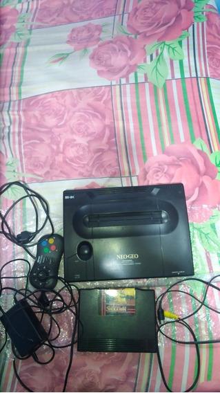 Neo Geo Aes+controle Neogeo Cd Original+ Cabo Fonte.r$ 2350