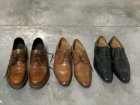 Lote Tres Pares De Zapatos Talle 47 Dr Martens / Aldo