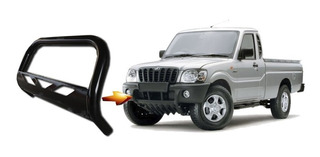 Parachoque De Impulsão Chapa Preto Mahindra Pik Up Cs Cd