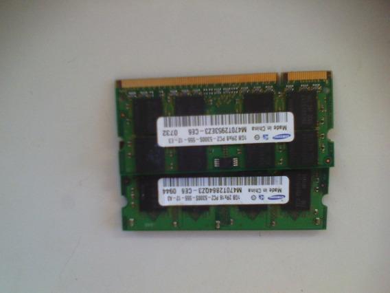 1gb Memória Ddr2 Samsung M470t2953ez3-ce6 5300s 667