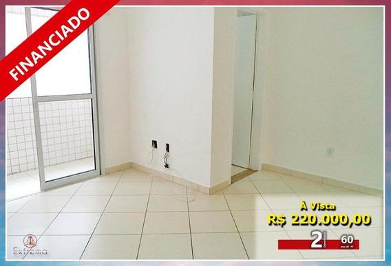 Apartamento Com 2 Dormitórios À Venda, 60 M² Por R$ 220.000,00 - Aviação - Praia Grande/sp - Ap1759