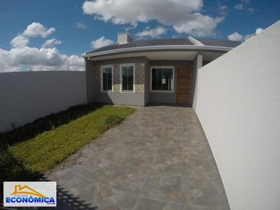 Casa Para Venda Em Fazenda Rio Grande, Eucaliptos-greenfield, 3 Dormitórios, 1 Banheiro, 2 Vagas - 900