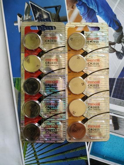 Cartelas Bateria Maxell 2025 /2032