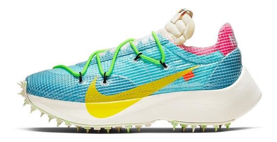 Tênis Sneakers Nike Off White Vapor Street Azul Nº 39 Novo