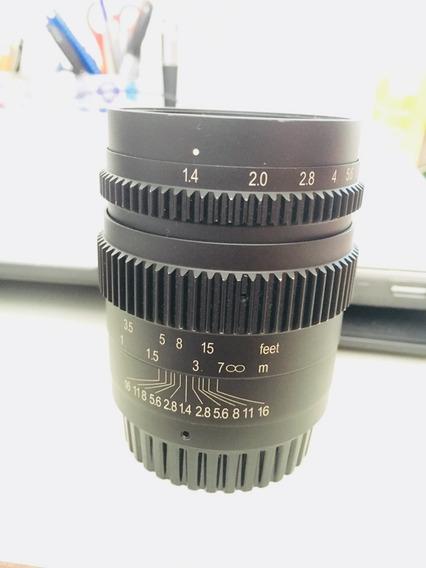 Lente Slr Magic 35mm T1.4 Cine Mark Ii Para Blackmagic,ocasião