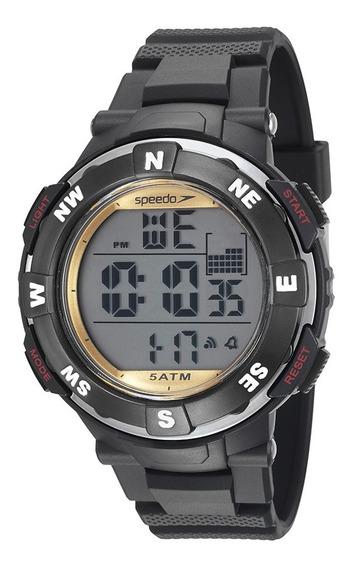 Relógio Esportivo Pulseira Em Silicone Speedo 81126g0evnp4