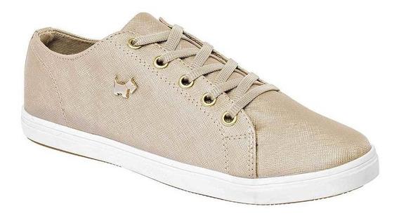 Tenis Ferrioni Mujer H4022bg Color Oro Talla 22-26 -shoes