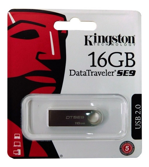 Pendrive Kingston 16gb 16 Gb Datatraveler Dtse9h 2.0 Origina