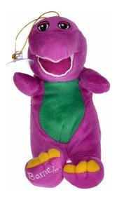 Barney De Pelucia 18cm - Canta Musica!
