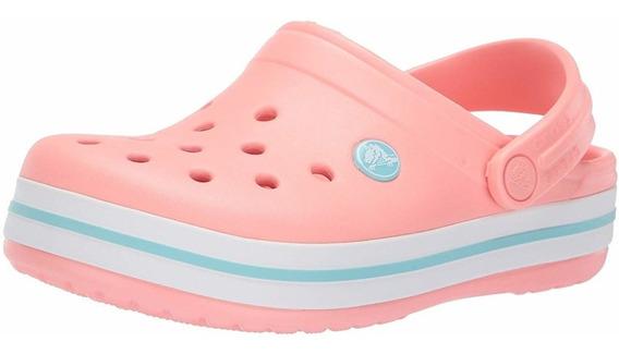 Crocs Crocband Raspberry, Pearl Pink Y Melon-envio Gratis
