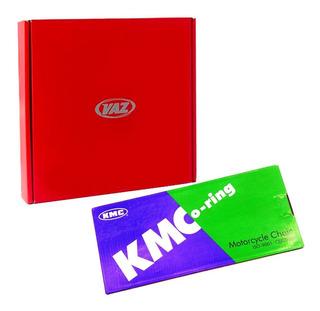Kit Relação Gsx750f Gsx 750f Gsx 750 F Vaz + Kmc