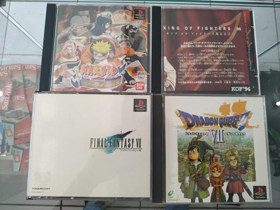 04 Jogos Playstation 1. Originais Jp