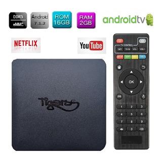 Tv Box 4k 16gb Ram 2gb Quad Core Convierte A Smart Tv