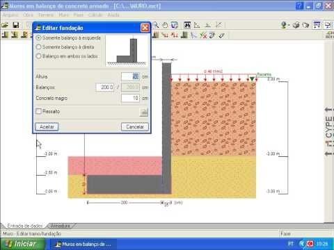 Software Para Projeto De Muro De Arrimo E Contenção De Solos