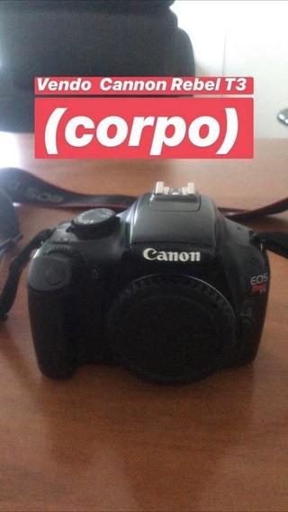 Vendo Câmera Fotográfica Canon Rebel T3