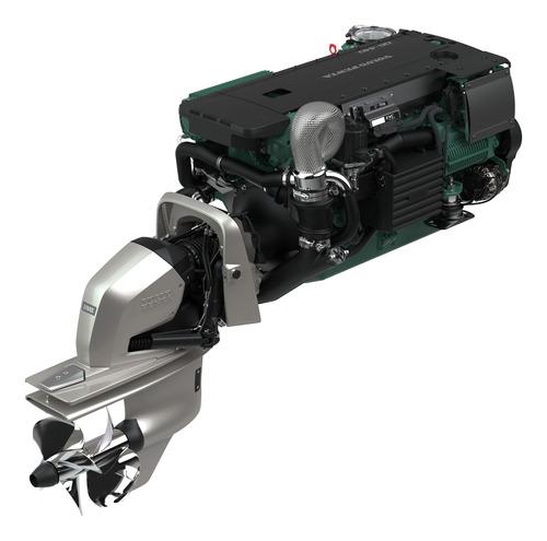 Motor Diesel Lancha Ou Barco Volvo Penta D6 380hp Com Rabeta