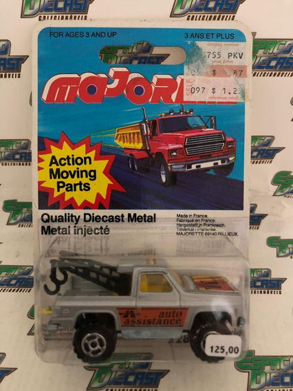 Pickup 4x4 Towing Truck Made In France Majorette