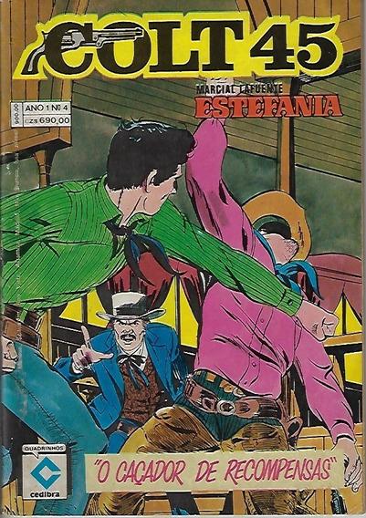 1988 Hq Quadrinhos Colt 45 Nº 4 Editora Cedibra