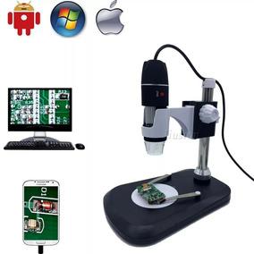 Microscopio Digital 1000x Imagem Hd Com Base E Regulagem