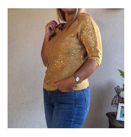 Sweater Wd New York Dorado