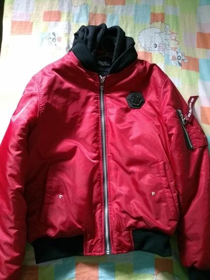 Jaqueta De Frio Masculina Vermelha Descolada