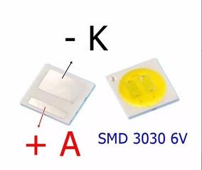 Kit 50 Leds 6v 3030 1,8w Toshiba Philco E Outros Smd 3030