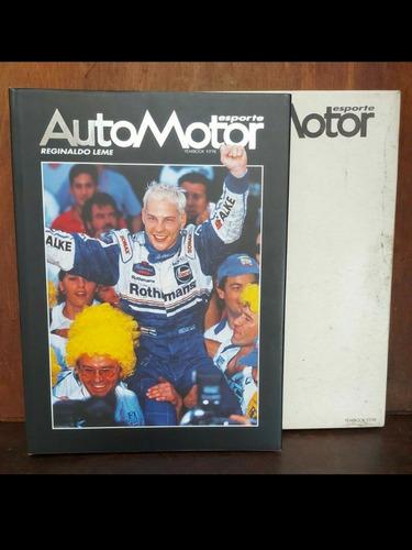 Anuário Automotor Reginaldo Leme 97/98 Autografado