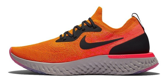 Tenis Nike Epic React Flyknit 2 Fit Running Correr Hombre