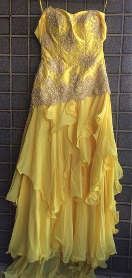 Vestido Amarelo Para Mae Do Noivo Vestidos Femeninos Longo