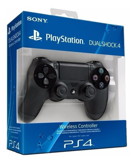 Joystick Sony Ps4 Original Playstation V2 Dualshock Black