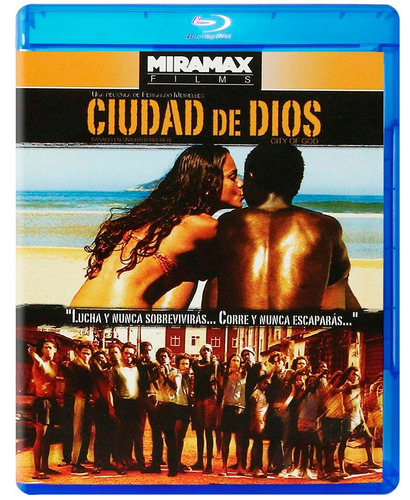 Ciudad De Dios Fernando Meirelles Pelicula Blu-ray