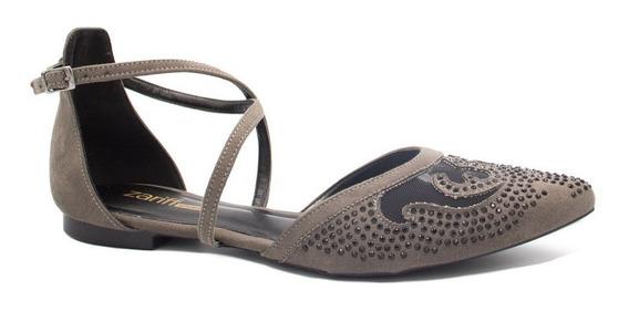 Sapatilha Zariff Shoes Fivela Pedras 1232223