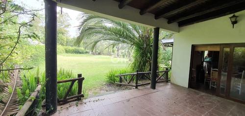 Casona Con Gran Terreno En Naturaleza Cercana Al Centro - En Alquiler Anual Invernal Y Venta- Ref: 24196