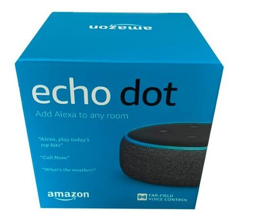 Echo Dot Speaker Alexa 3º Geração - Preto