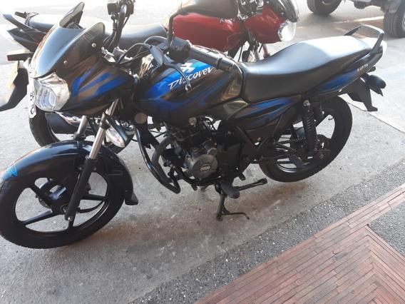 Bajaj Discover 125 + Negra Azul