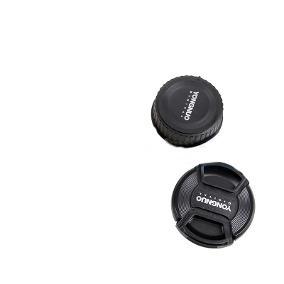 Tampa Frontal E Traseira - Lente Yongnuo 35mm