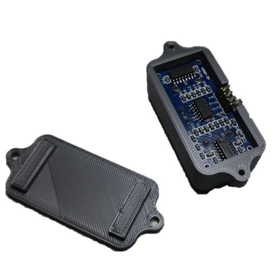 Suporte Para Sensor Ultrassonico Hcsr04 Modelo Caixa